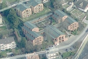 Vogelperspektive EBP in Bing Maps