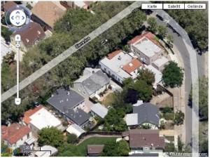 Beispiel für Schrägaufnahme in Google Maps