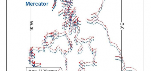Comparison-Mercator-WebMercator