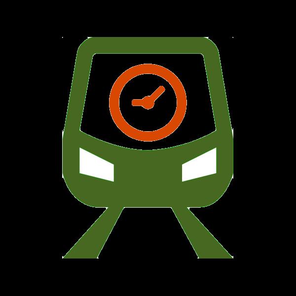 Logo of the TrainDelayBot
